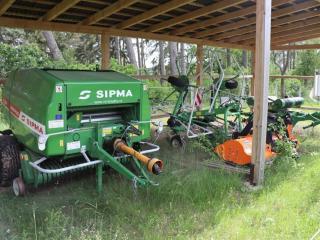 Stroje Zetor + SaMASZ + SIPMA u pana Čtrnáctého